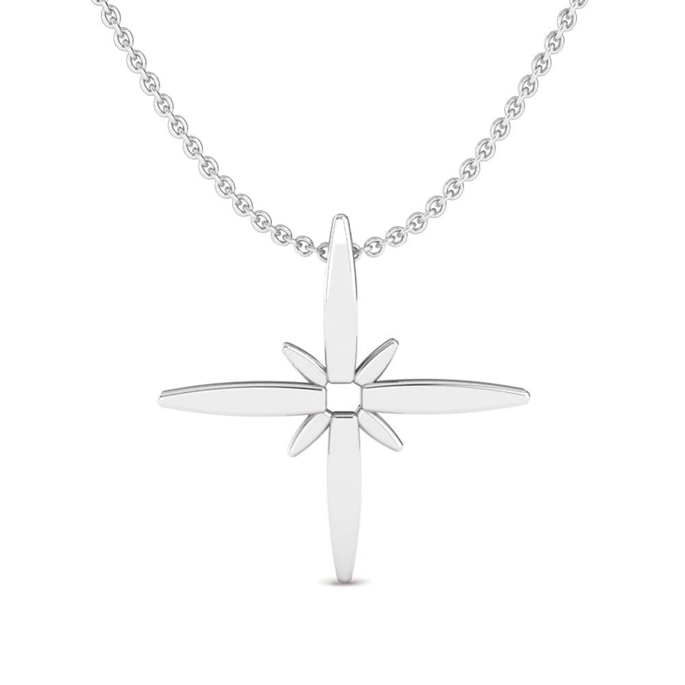 Plain Pendant silver