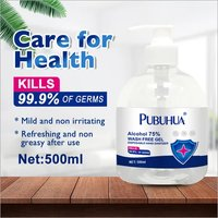 Antiseptic 99.9% efficient 75% alcohol Private Label Hand Sanitizer