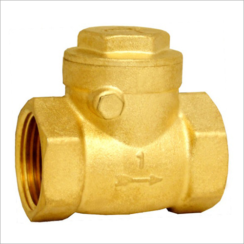 KIRTI FORGED BRASS SWING CHECK VALVE