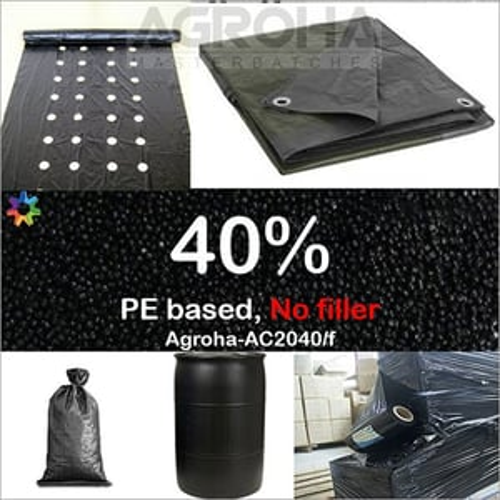 40 Percent PE Based Black Masterbatch