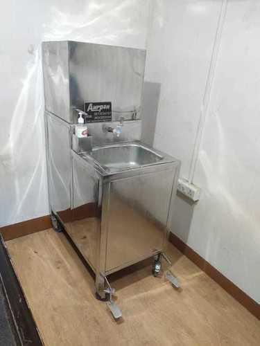Foot Press Hand Wash Counter