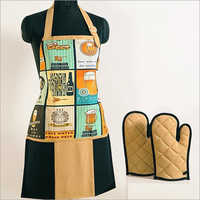 Beer Brown Digital Aprons