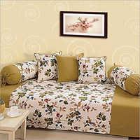 Marigold Cream Diwan Set