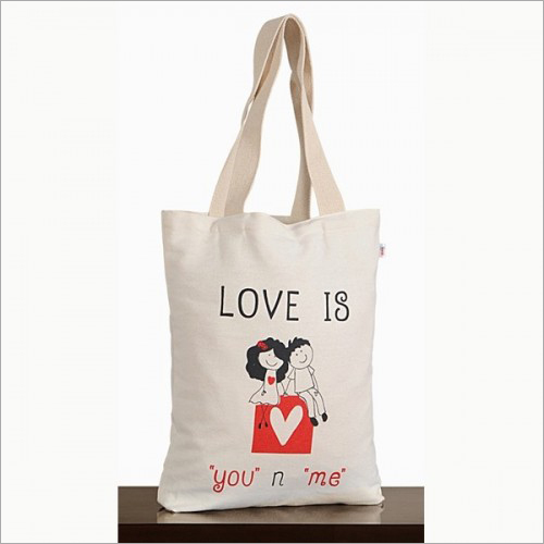Cute Love Canvas Graffiti Bag