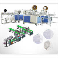 Fully Automatic R-N95 Mask Making Machine