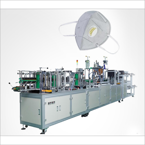 Semi Automatic R-N95 Mask Making Machine