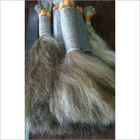 Bulk Natural Silver Grey Indian Human Hair