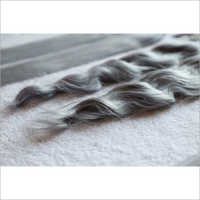 Straight Silver Grey Human Hair