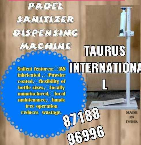 Padel Sanitizer Dispensing Machine