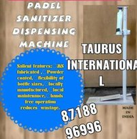 Padel Sanitizer Dispensing Machine