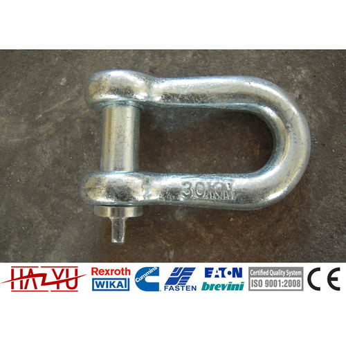 TYGXK High Strength Steel D Shackle Stainless Steel