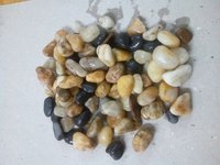 River Machine Polished mix color Pebbles and Gravels