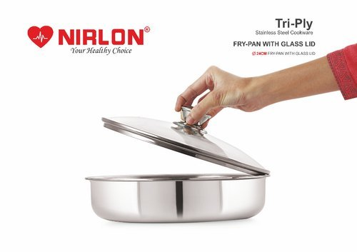 Nirlon Platinum Triply Fry Pan