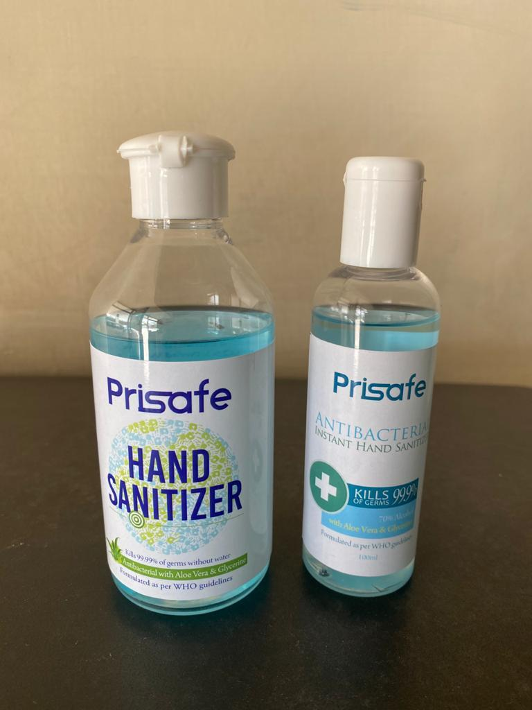 Sanitizer 100 ml - Prisafe