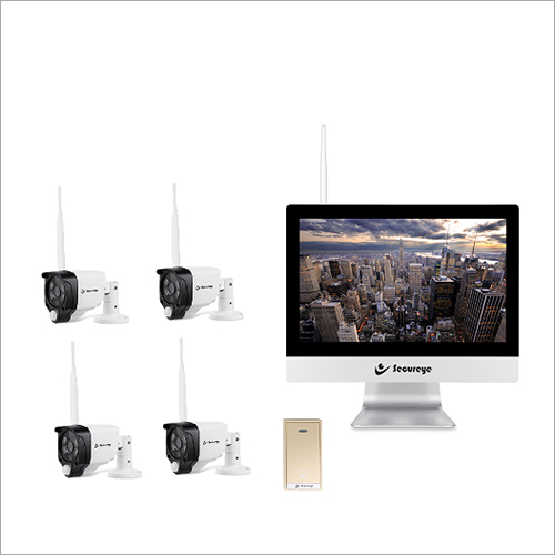 WiFi 4 Channel Kit with LCD NVR