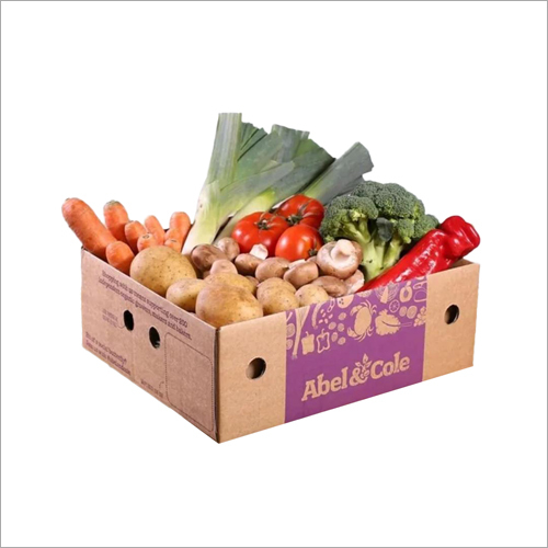 Vegetable Corrugated Packaging Box