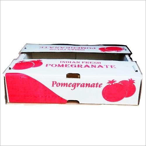3 kg Pomegranate Corrugated Packaging Box