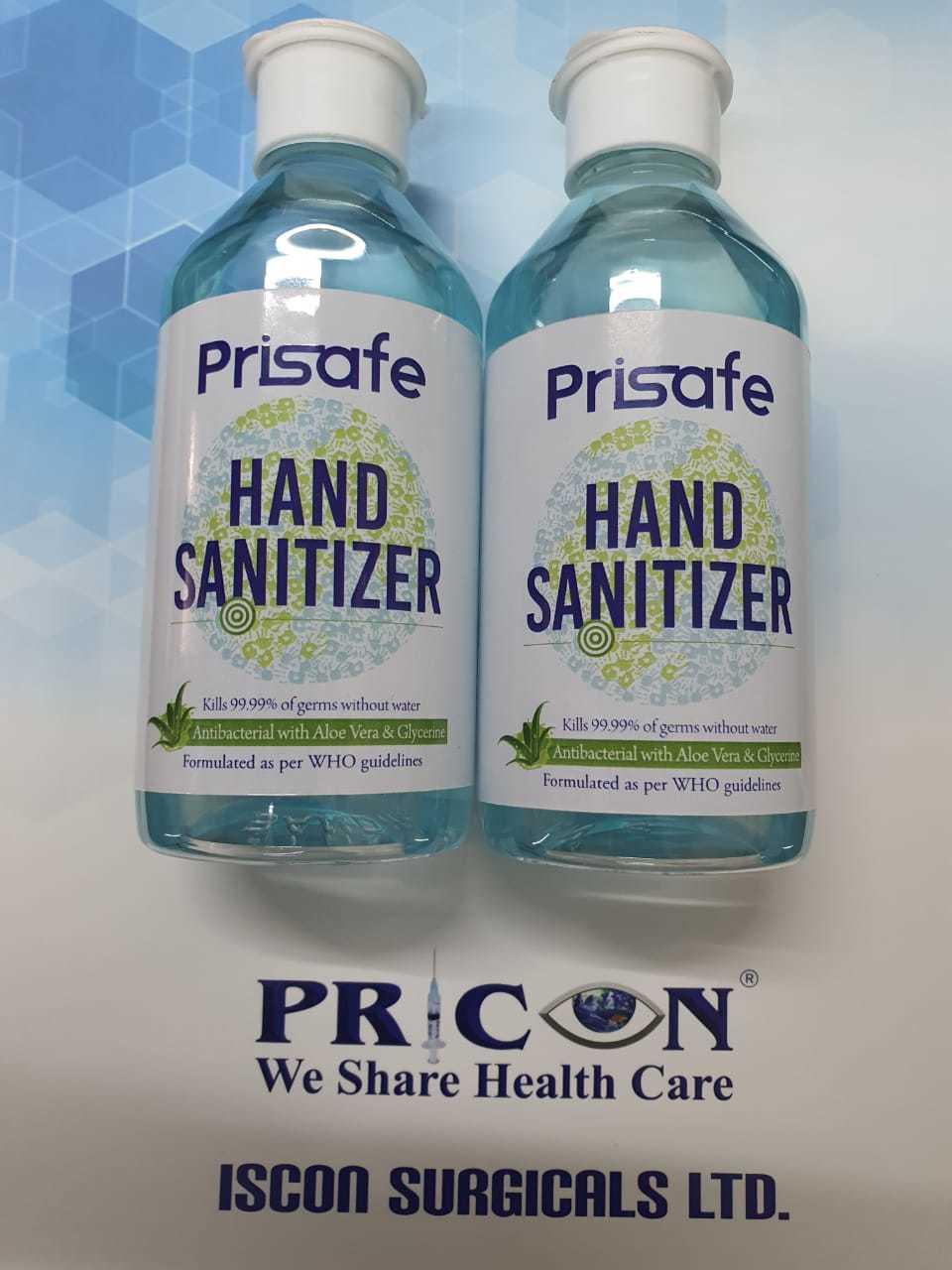 Sanitizer - 200 ml  Prisafe