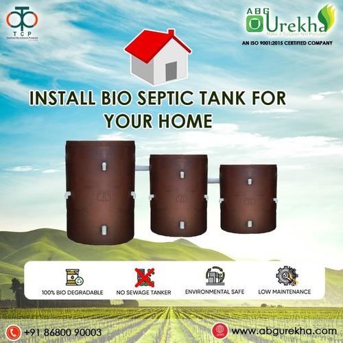 Non Filling Bio Septic tank