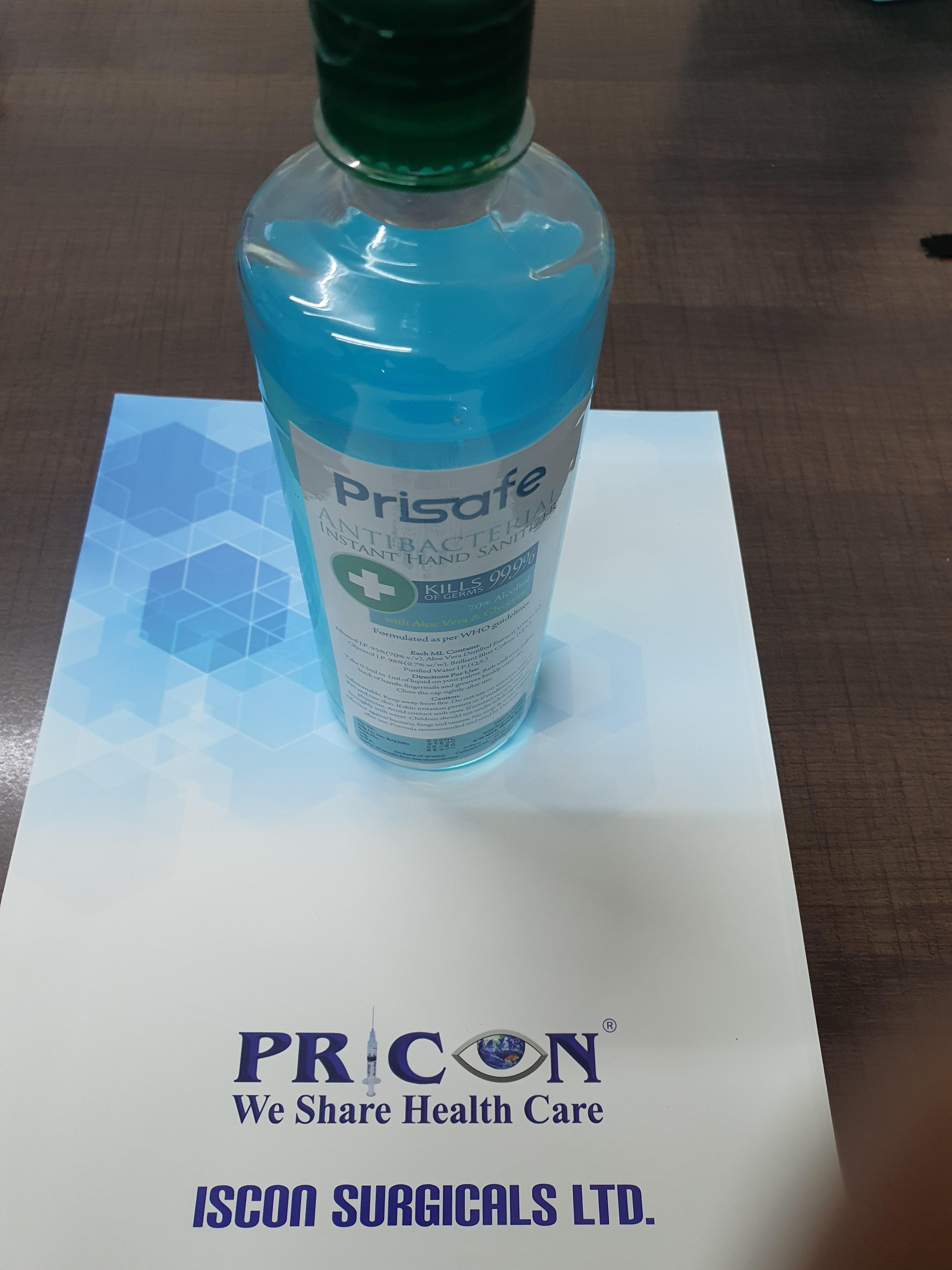 Sanitizer - 500 ml Prisafe
