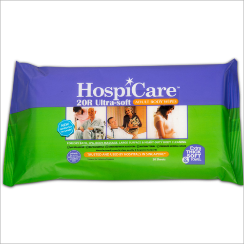 Ultra Soft Adult Body Wipes