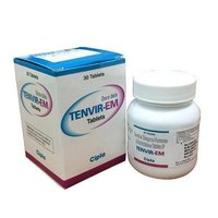 Tenvir-EM Tablet (Emtricitabine (200mg) + Tenofovir disoproxil fumarate (300mg) - Cipla Ltd)