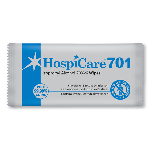 Isopropyl Alcohol 70% Disinfection Wipes