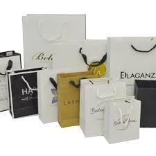 Customized Logo Printed Paper Bag