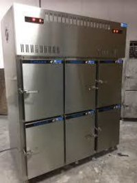 Six Door Vertical Deep Freezer with Digital