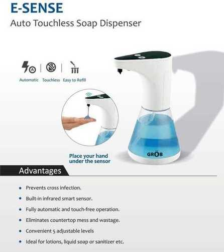 Auto Toothless Soap Dispenser