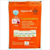 hygiene kit packing pouch