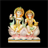 Marble Radha Krishna Statue For Temple