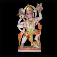 Polished Marble Hanuman Statue