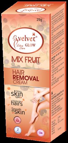 Velvet Glow Hair Removal Cream(Mix Fruit)