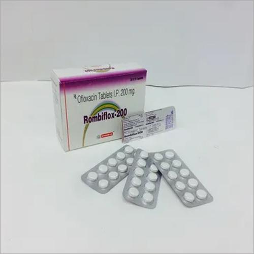 Ofloxacin 200mg tab