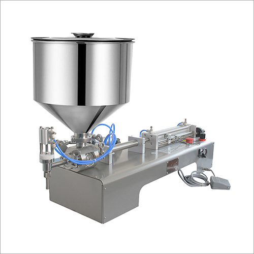 Semi-auto 5-5000ml Paste Filling Machine