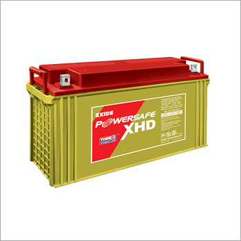 Tubular Gel VRLA EXIDE Powersafe XHD Battery