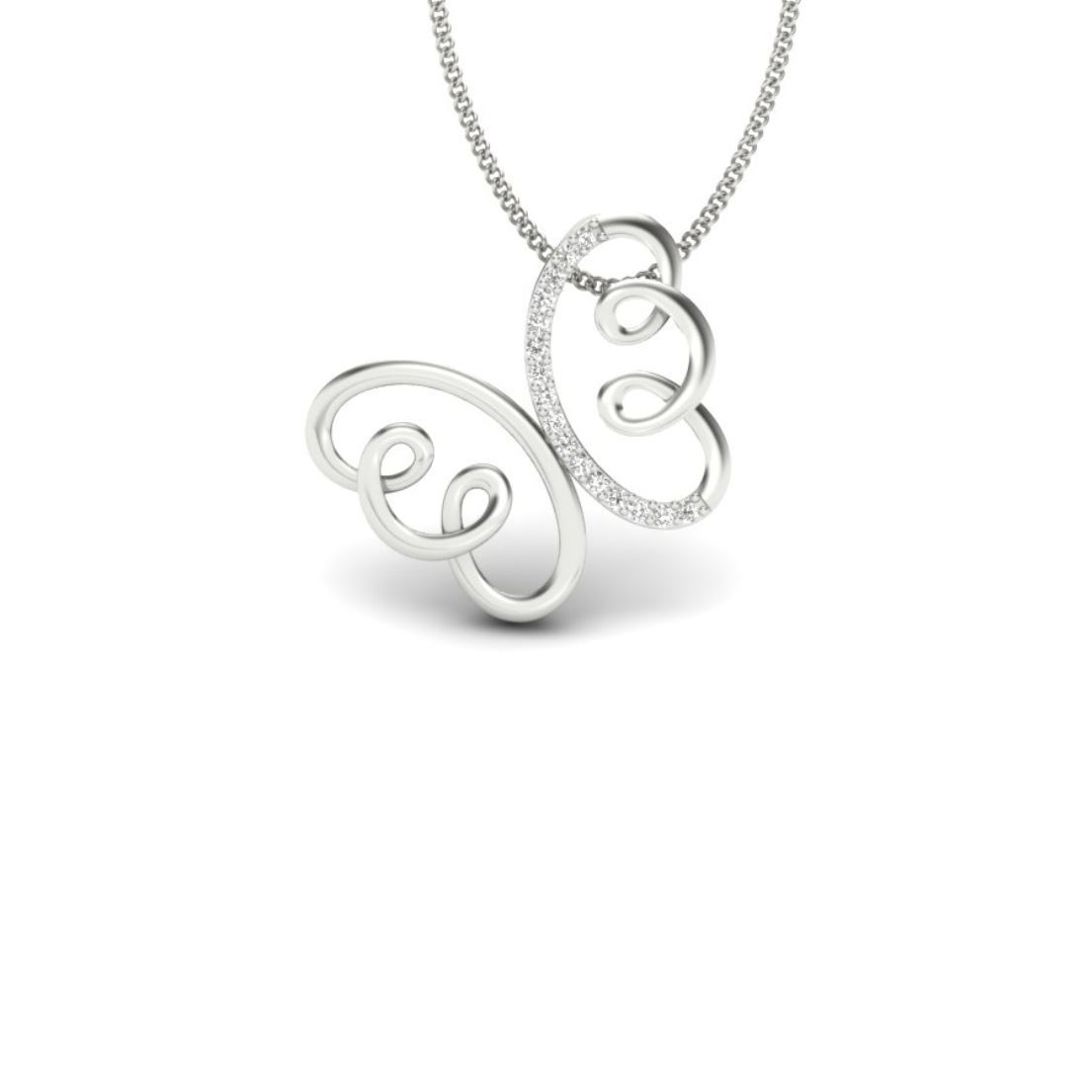 Daily wear silver Pendant