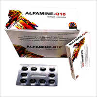 Co Enzyme Q10 Omega 3 AFatty Acid Vitamin E Astaxanthin And Green Tea Extract Softgel Capsules