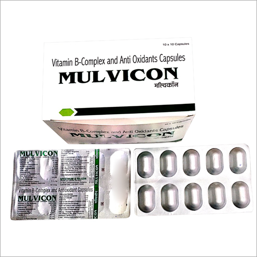 Vitamin B-Complex And Anti Oxidants Capsules