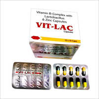 Vitamin B-Complex With Lactobacillus And Zinc Capsules