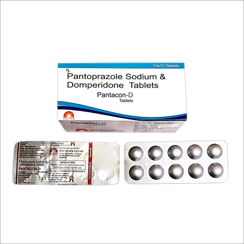 Pantoprazole Sodium And Domperidone Tablets
