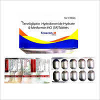 Teneligliptin Hydrobromide Hydrate And Metformin HCl (SR) Tablets
