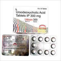 300 MG Ursodeoxycholic Acid Tablets IP