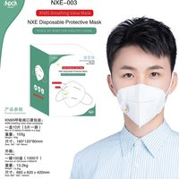 NXE KN95 with filter disposable protective mask breathing valve mask