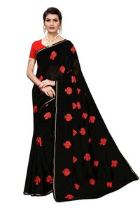 New Designer Saree In 4 Different Colors