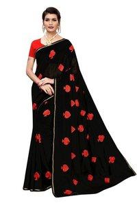 New Designer Saree In 4 Different Colors