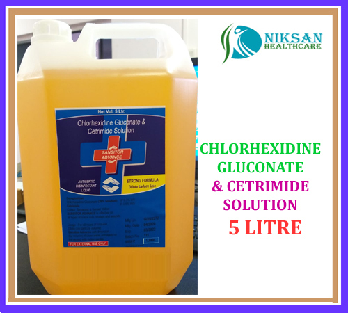 CHLORHEXIDINE GLUCONATE CETRIMIDE DISINFECTANT SOLUTION