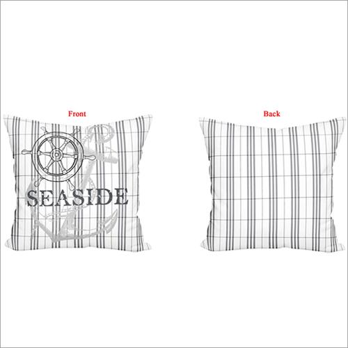 Seaside Print Cushion