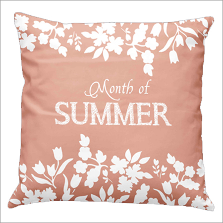 Summer Print Cushion